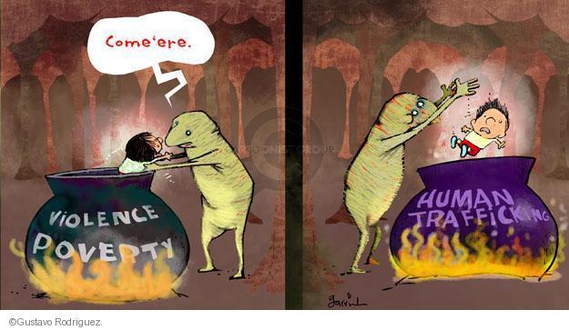 Gustavo Rodriguez  Garrincha's Editorial Cartoons 2014-07-02 violence