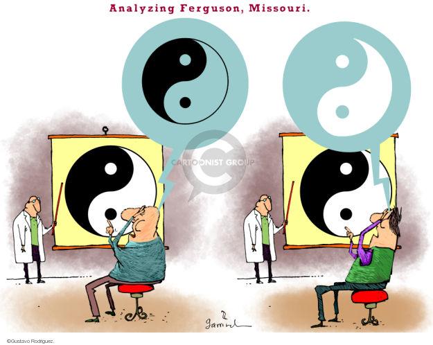 Gustavo Rodriguez  Garrincha's Editorial Cartoons 2014-08-19 law enforcement