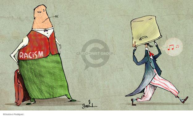 Gustavo Rodriguez  Garrincha's Editorial Cartoons 2014-08-21 racism