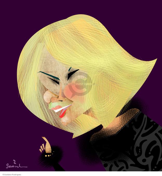 Gustavo Rodriguez  Garrincha's Editorial Cartoons 2014-09-04 illustration