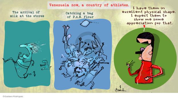 Gustavo Rodriguez  Garrincha's Editorial Cartoons 2014-09-09 economy
