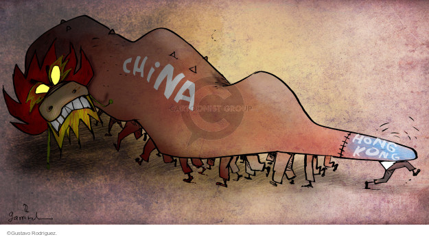 Gustavo Rodriguez  Garrincha's Editorial Cartoons 2014-10-01 civil disobedience