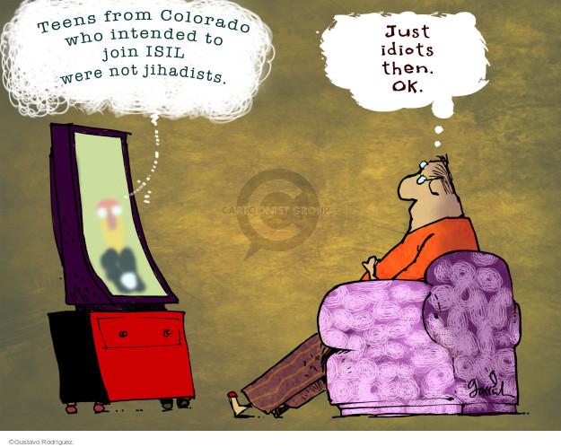 Gustavo Rodriguez  Garrincha's Editorial Cartoons 2014-10-23 teenager