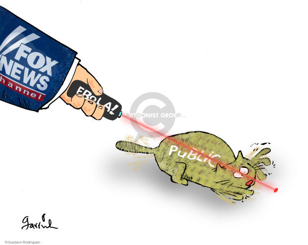 Cartoonist Gustavo Rodriguez  Garrincha's Editorial Cartoons 2014-10-28 commentary