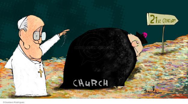 Gustavo Rodriguez  Garrincha's Editorial Cartoons 2014-10-30 21st