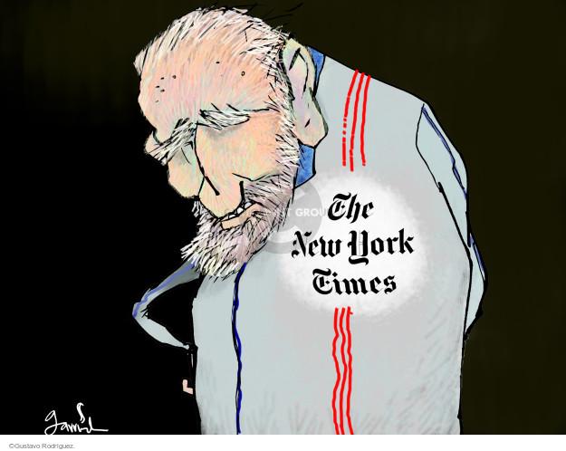 Gustavo Rodriguez  Garrincha's Editorial Cartoons 2014-11-03 media