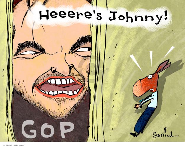 Heeeres Johnny! GOP.