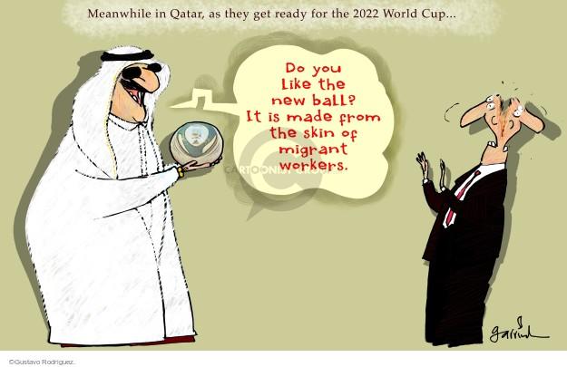 Gustavo Rodriguez  Garrincha's Editorial Cartoons 2014-11-13 migrant