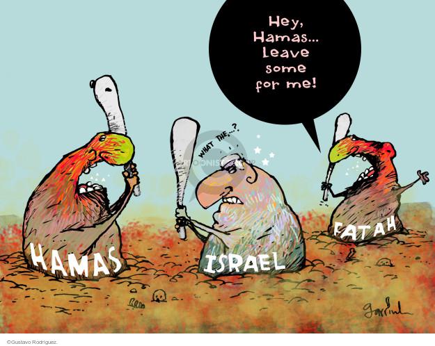 Gustavo Rodriguez  Garrincha's Editorial Cartoons 2014-11-18 violence