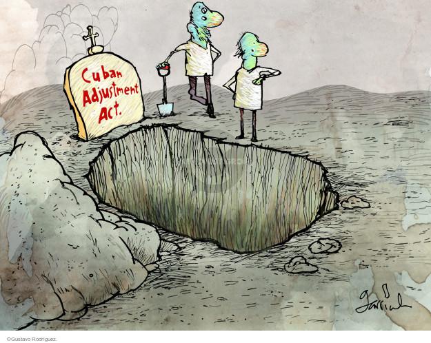 Gustavo Rodriguez  Garrincha's Editorial Cartoons 2014-12-19 normalization