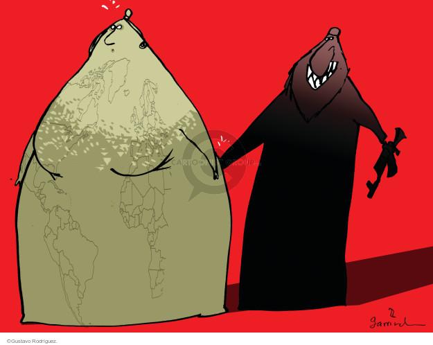 Gustavo Rodriguez  Garrincha's Editorial Cartoons 2015-01-08 freedom of expression