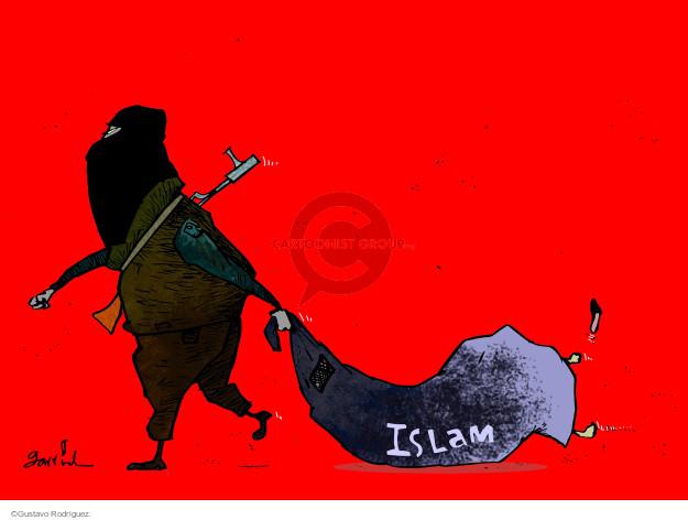 Gustavo Rodriguez  Garrincha's Editorial Cartoons 2015-01-09 violence
