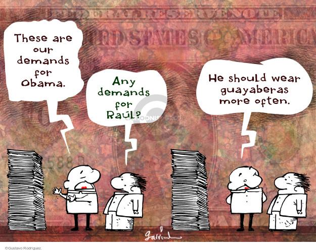 Gustavo Rodriguez  Garrincha's Editorial Cartoons 2015-01-22 negotiation