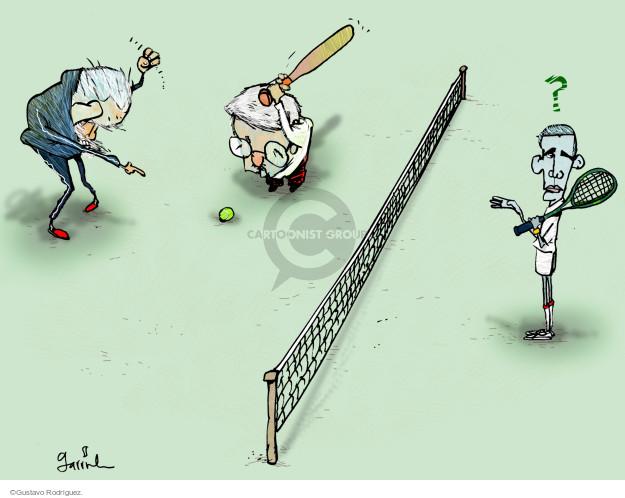 Gustavo Rodriguez  Garrincha's Editorial Cartoons 2015-01-29 tennis
