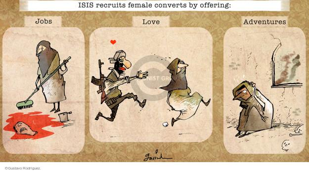 Gustavo Rodriguez  Garrincha's Editorial Cartoons 2015-03-09 love