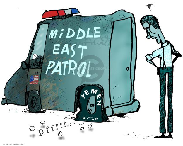 Gustavo Rodriguez  Garrincha's Editorial Cartoons 2015-03-31 Middle East