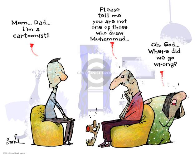Gustavo Rodriguez  Garrincha's Editorial Cartoons 2015-05-05 freedom of expression