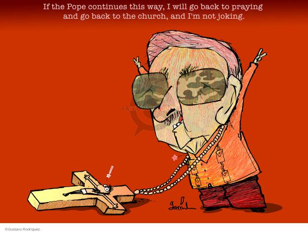 Gustavo Rodriguez  Garrincha's Editorial Cartoons 2015-05-11 Raul