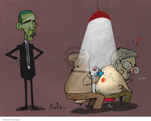 Gustavo Rodriguez  Garrincha's Editorial Cartoons 2015-05-11 cooperation
