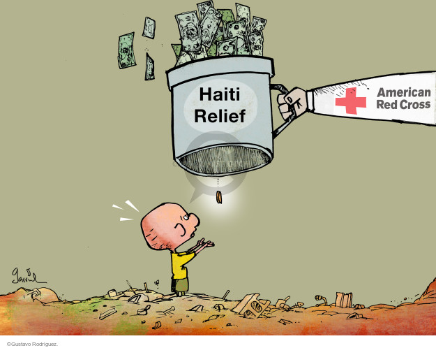 Gustavo Rodriguez  Garrincha's Editorial Cartoons 2015-06-09 charity