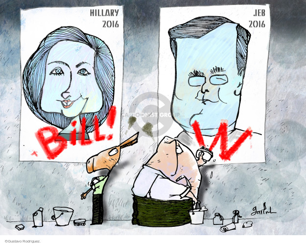 Gustavo Rodriguez  Garrincha's Editorial Cartoons 2015-06-16 2016 Election Hillary Clinton