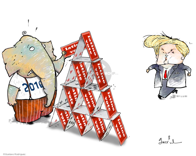 Latino vote. 2016.