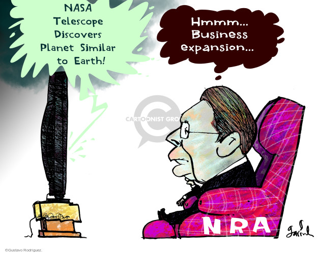 Gustavo Rodriguez  Garrincha's Editorial Cartoons 2015-07-26 weapon
