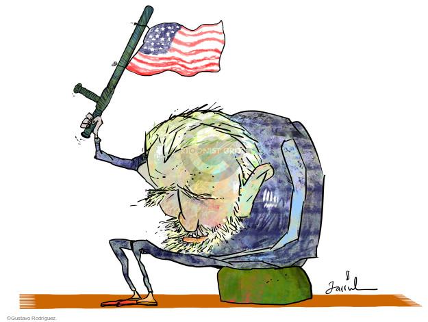 Gustavo Rodriguez  Garrincha's Editorial Cartoons 2015-08-15 Fidel Castro