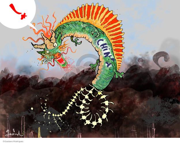 Gustavo Rodriguez  Garrincha's Editorial Cartoons 2015-08-15 chemical