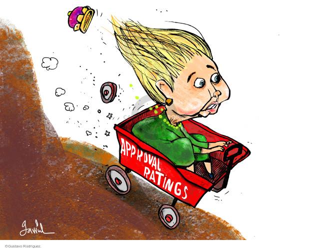 Gustavo Rodriguez  Garrincha's Editorial Cartoons 2015-09-15 2016 Election Hillary Clinton