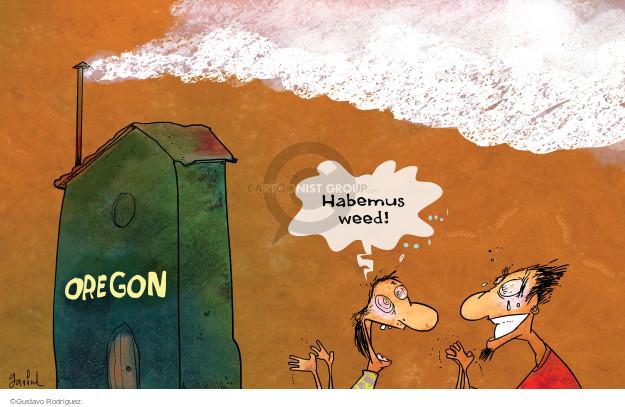 Cartoonist Gustavo Rodriguez  Garrincha's Editorial Cartoons 2015-10-02 white