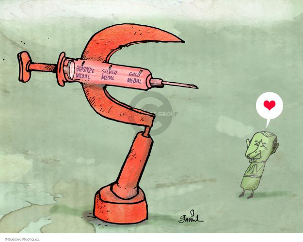 Gustavo Rodriguez  Garrincha's Editorial Cartoons 2015-11-13 Vladimir Putin