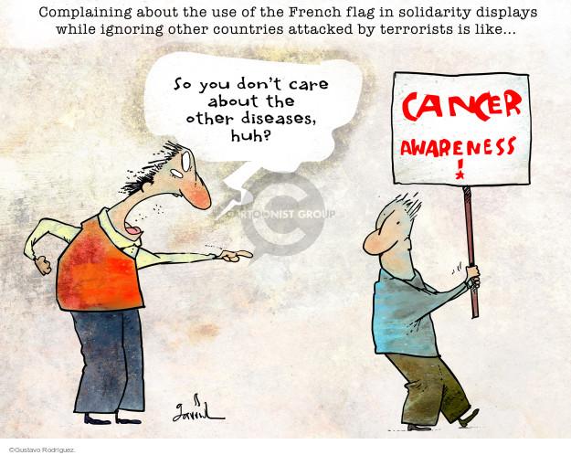 Gustavo Rodriguez  Garrincha's Editorial Cartoons 2015-11-17 country