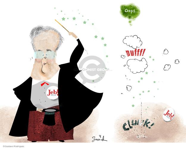 Gustavo Rodriguez  Garrincha's Editorial Cartoons 2016-02-11 clunk