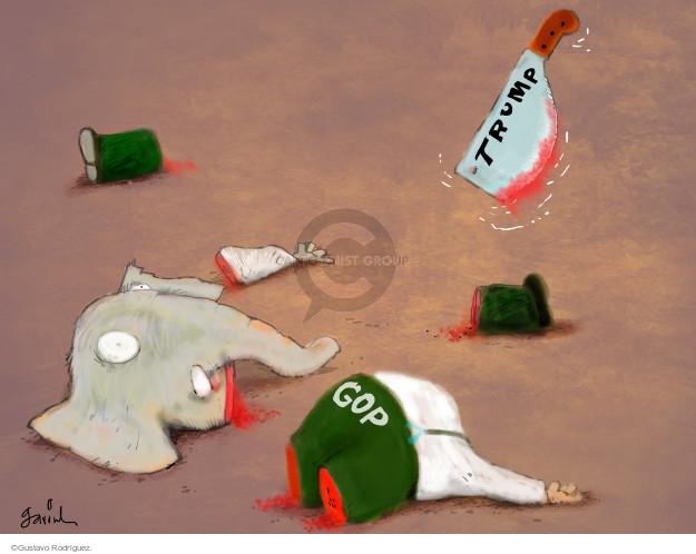 Gustavo Rodriguez  Garrincha's Editorial Cartoons 2016-03-02 presidential