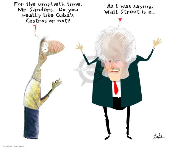 Gustavo Rodriguez  Garrincha's Editorial Cartoons 2016-03-11 Raul