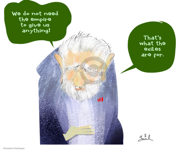 Gustavo Rodriguez  Garrincha's Editorial Cartoons 2016-03-30 America