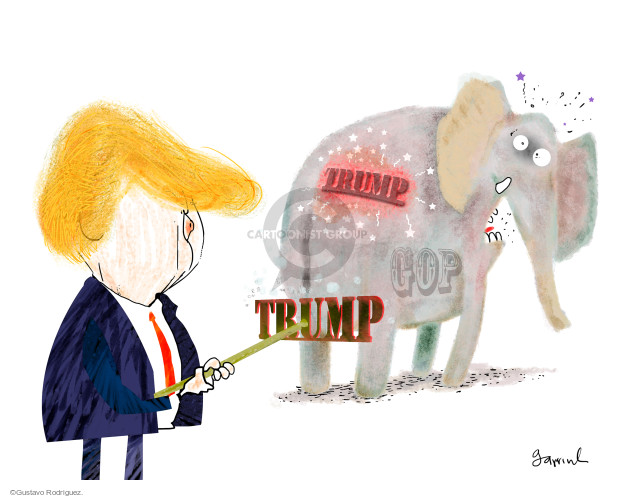 Cartoonist Gustavo Rodriguez  Garrincha's Editorial Cartoons 2016-05-04 editorial
