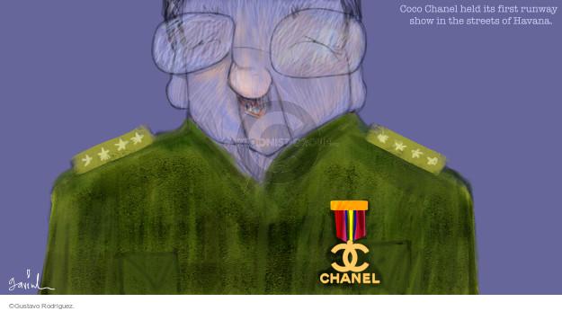 Gustavo Rodriguez  Garrincha's Editorial Cartoons 2016-05-05 Raul Castro