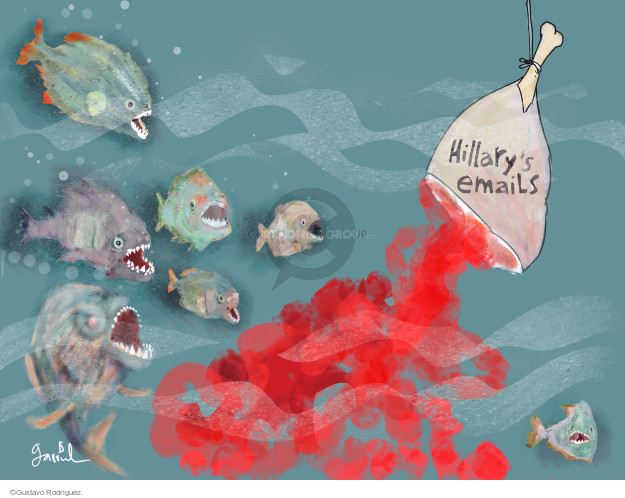 Gustavo Rodriguez  Garrincha's Editorial Cartoons 2016-05-26 Secretary of State