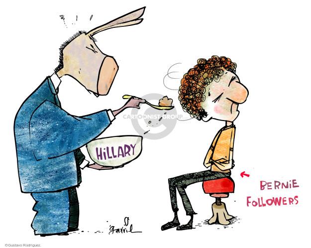 Gustavo Rodriguez  Garrincha's Editorial Cartoons 2016-06-13 political party