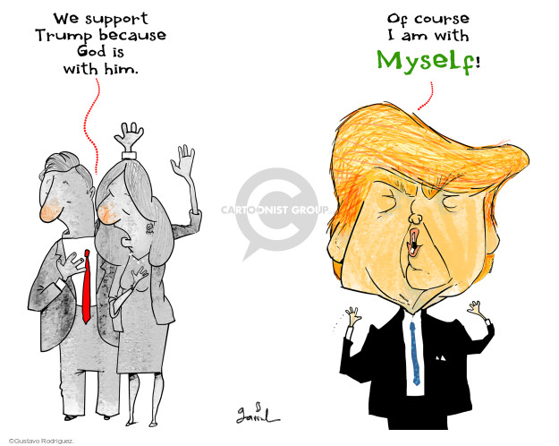 Gustavo Rodriguez  Garrincha's Editorial Cartoons 2016-06-21 egotism