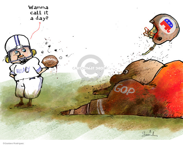 Gustavo Rodriguez  Garrincha's Editorial Cartoons 2016-06-30 presidential