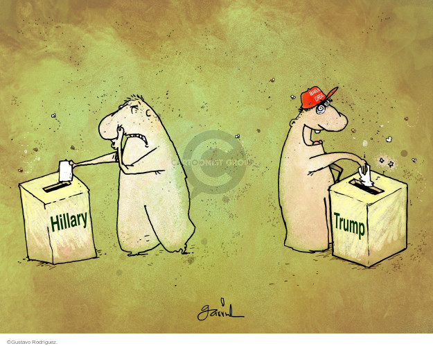 Gustavo Rodriguez  Garrincha's Editorial Cartoons 2016-10-04 America