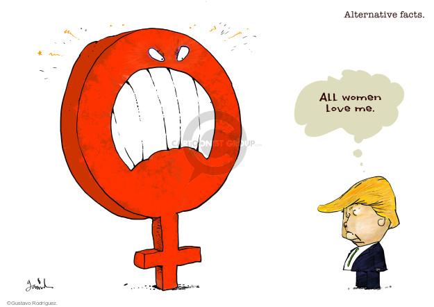 Gustavo Rodriguez  Garrincha's Editorial Cartoons 2017-01-25 love