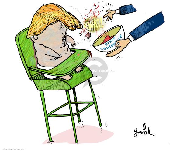 Cartoonist Gustavo Rodriguez  Garrincha's Editorial Cartoons 2017-02-21 white