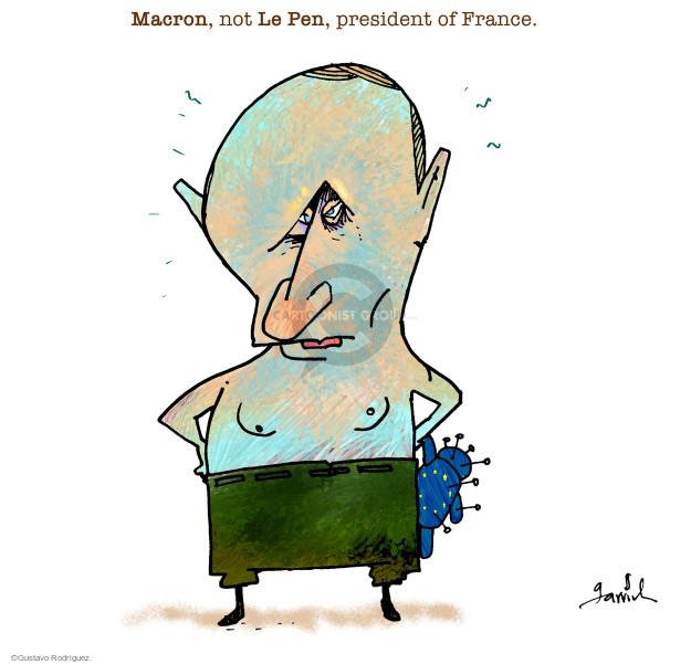 Gustavo Rodriguez  Garrincha's Editorial Cartoons 2017-05-08 international relations