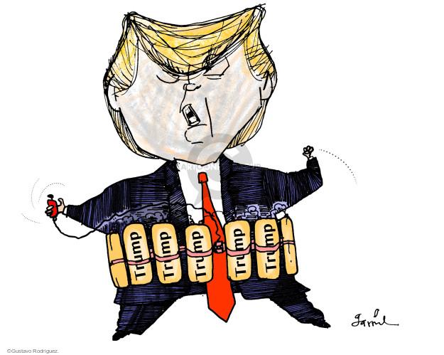 Gustavo Rodriguez  Garrincha's Editorial Cartoons 2017-05-18 destruction