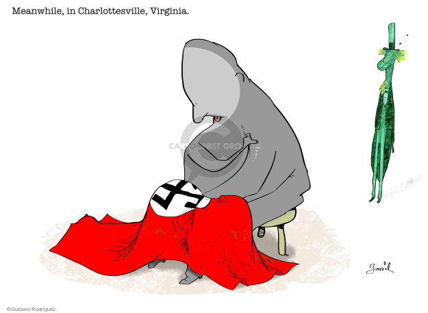 Meanwhile, in Charlottesville, Virginia.