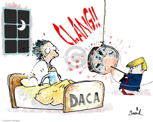 Clang!! DACA.